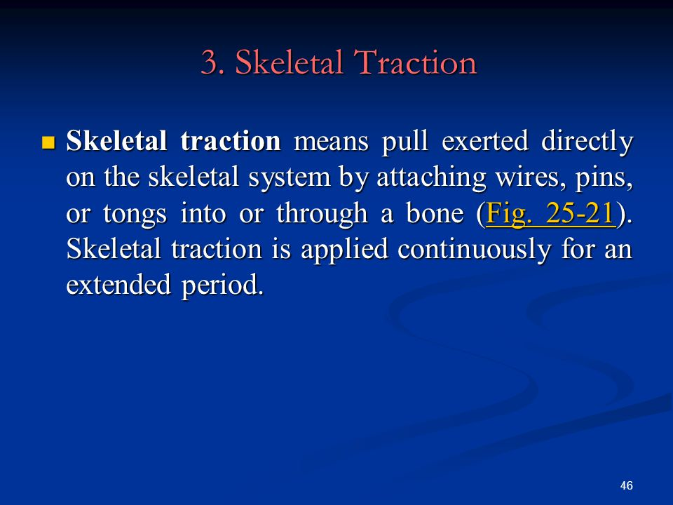 3. Skeletal Traction