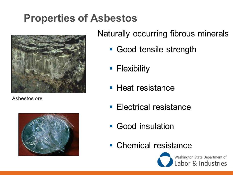 Properties of Asbestos