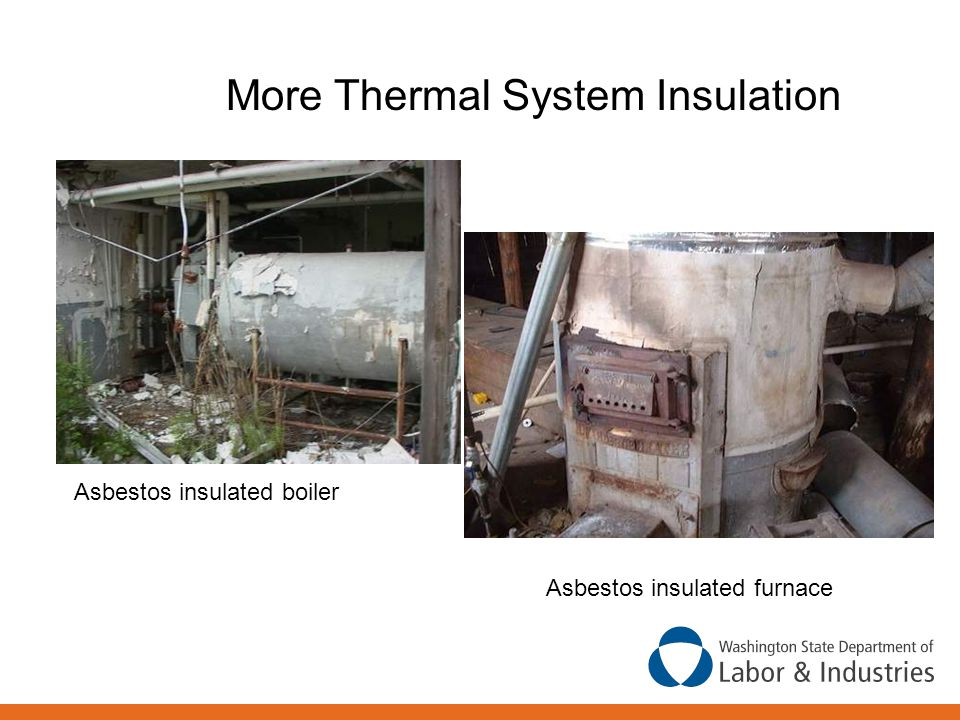 More Thermal System Insulation