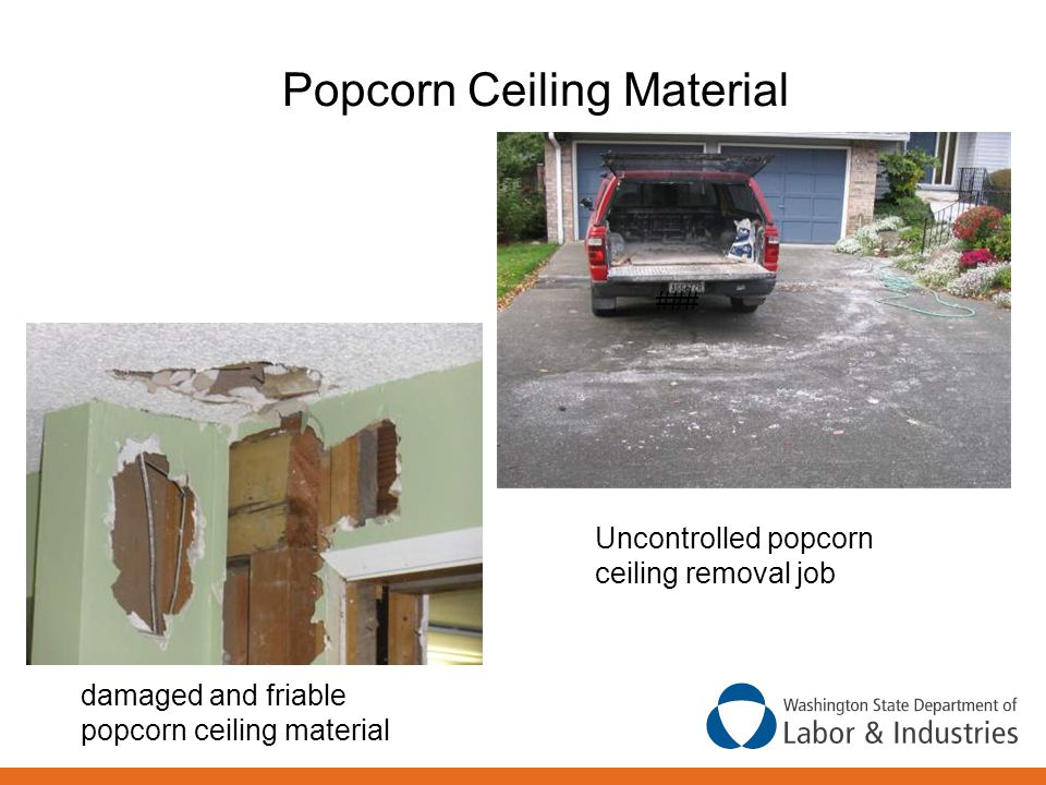 Popcorn Ceiling Material