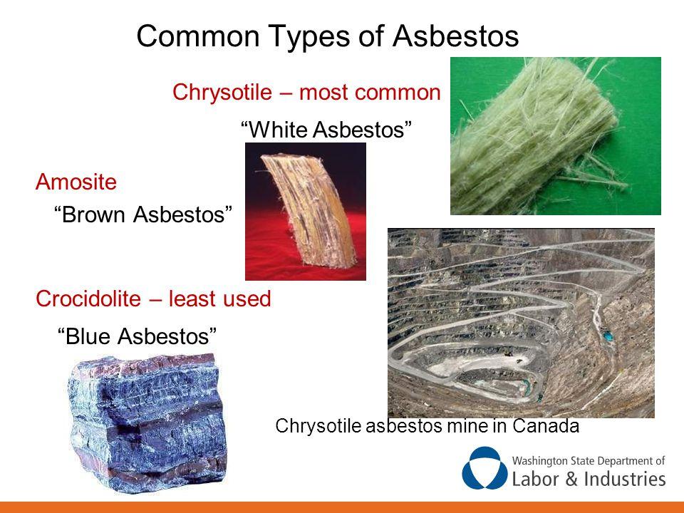 Common Types of Asbestos