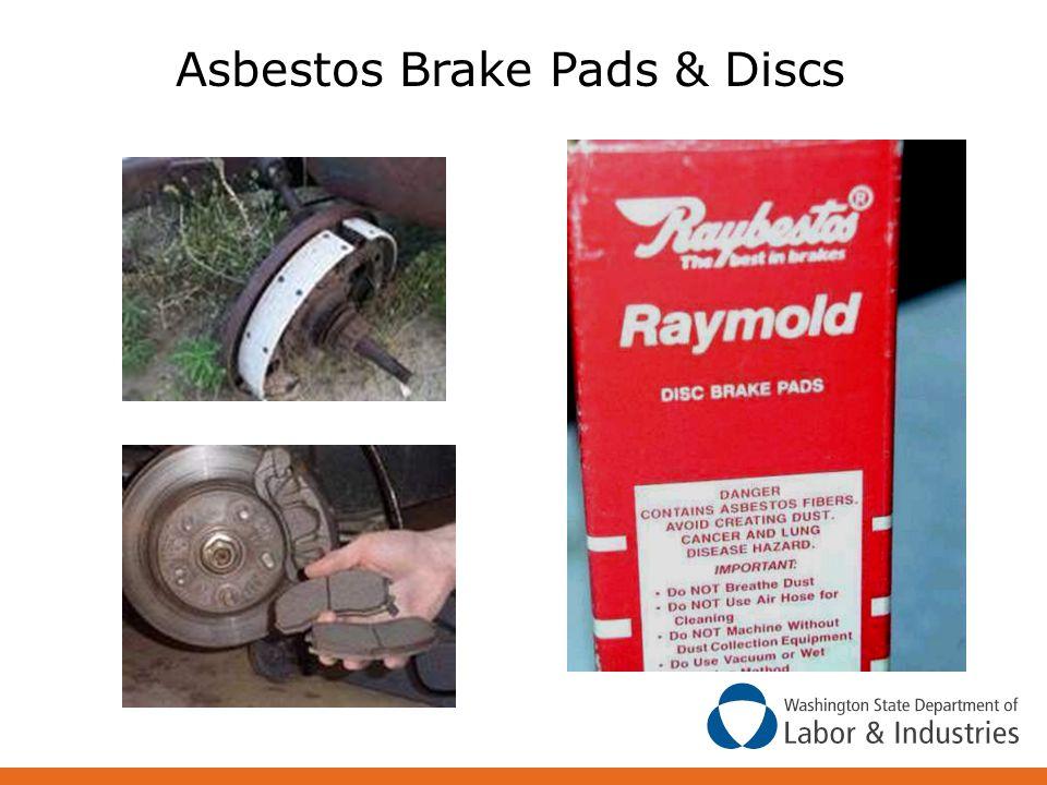 Asbestos Brake Pads & Discs