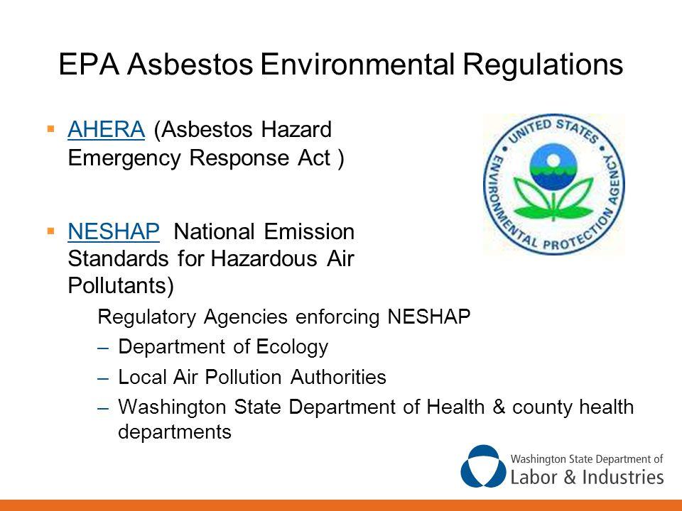 EPA Asbestos Environmental Regulations