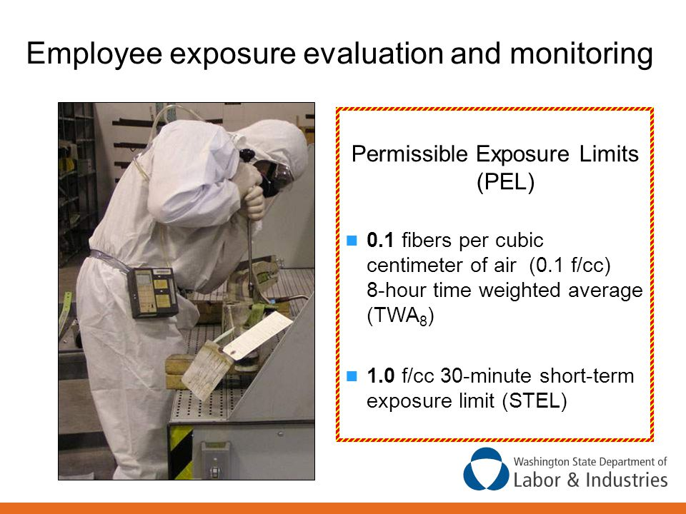 Employee exposure evaluation and monitoring