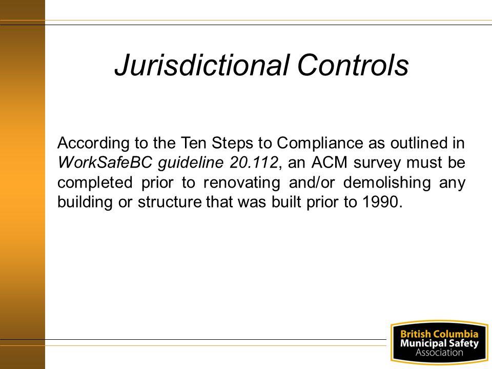 Jurisdictional Controls