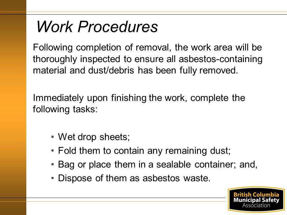 Work Procedures