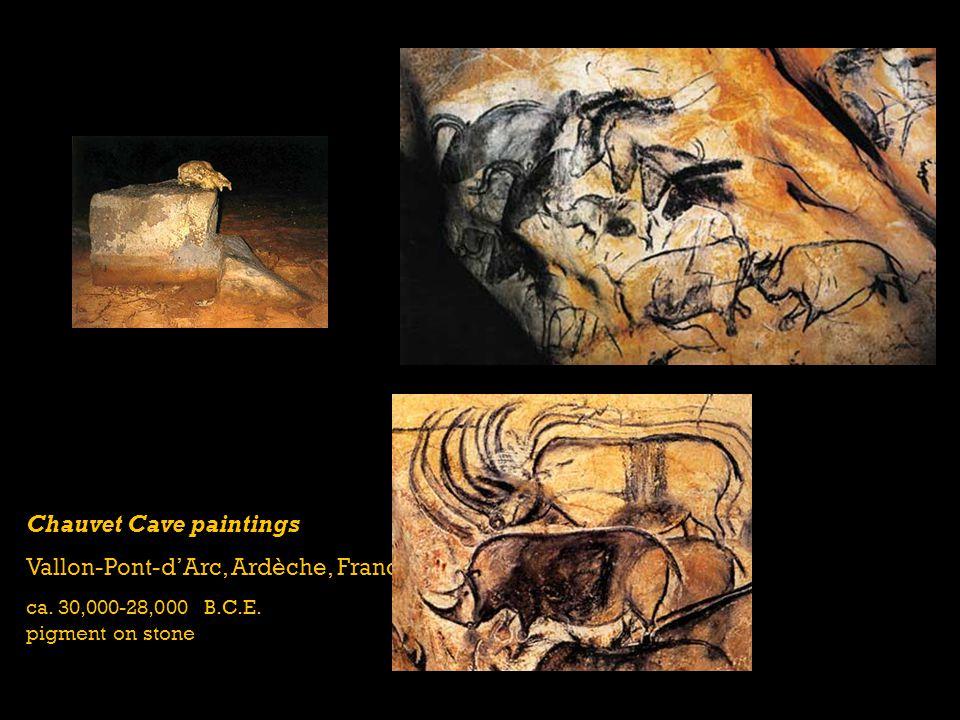 Chauvet Cave paintings Vallon-Pont-d'Arc, Ardèche, France