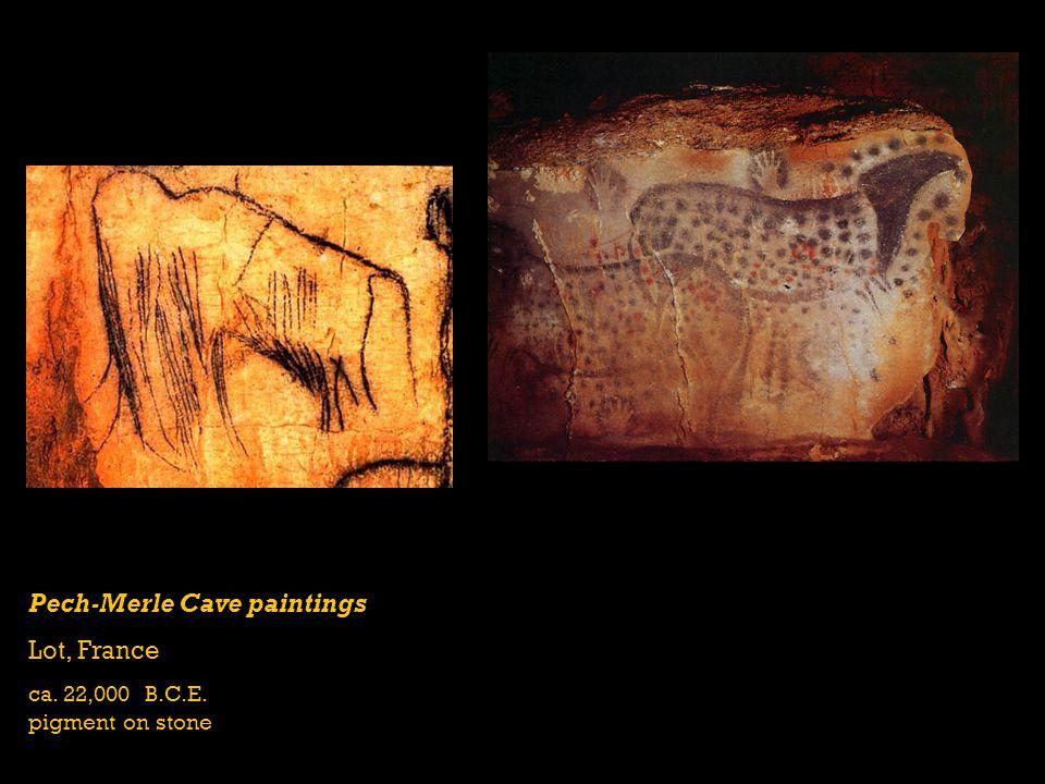 Pech-Merle Cave paintings Lot, France