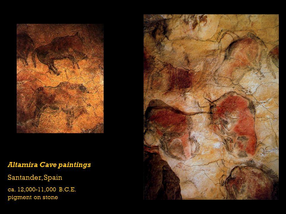Altamira Cave paintings Santander, Spain