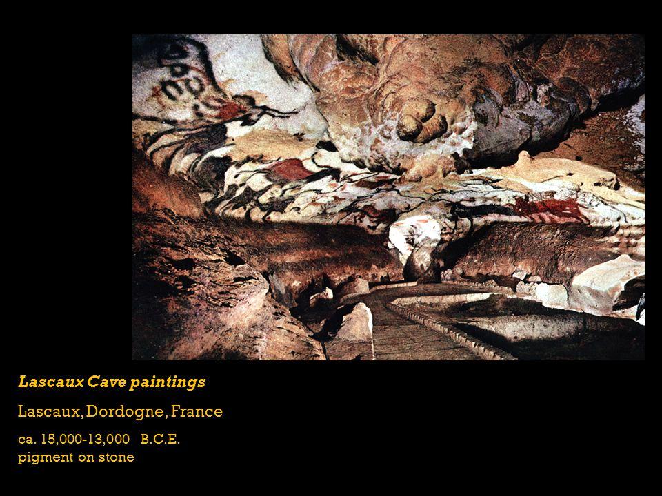 Lascaux Cave paintings Lascaux, Dordogne, France