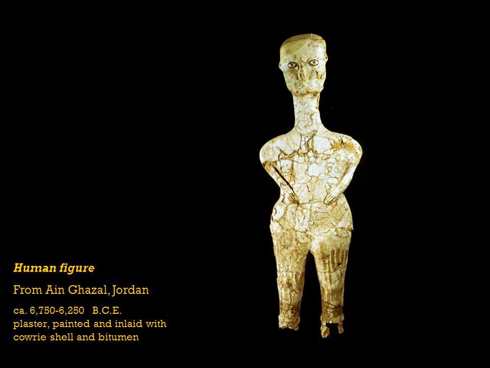 Human figure From Ain Ghazal, Jordan