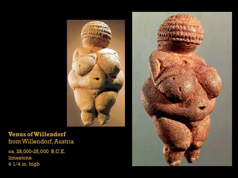 Venus of Willendorf from Willendorf, Austria