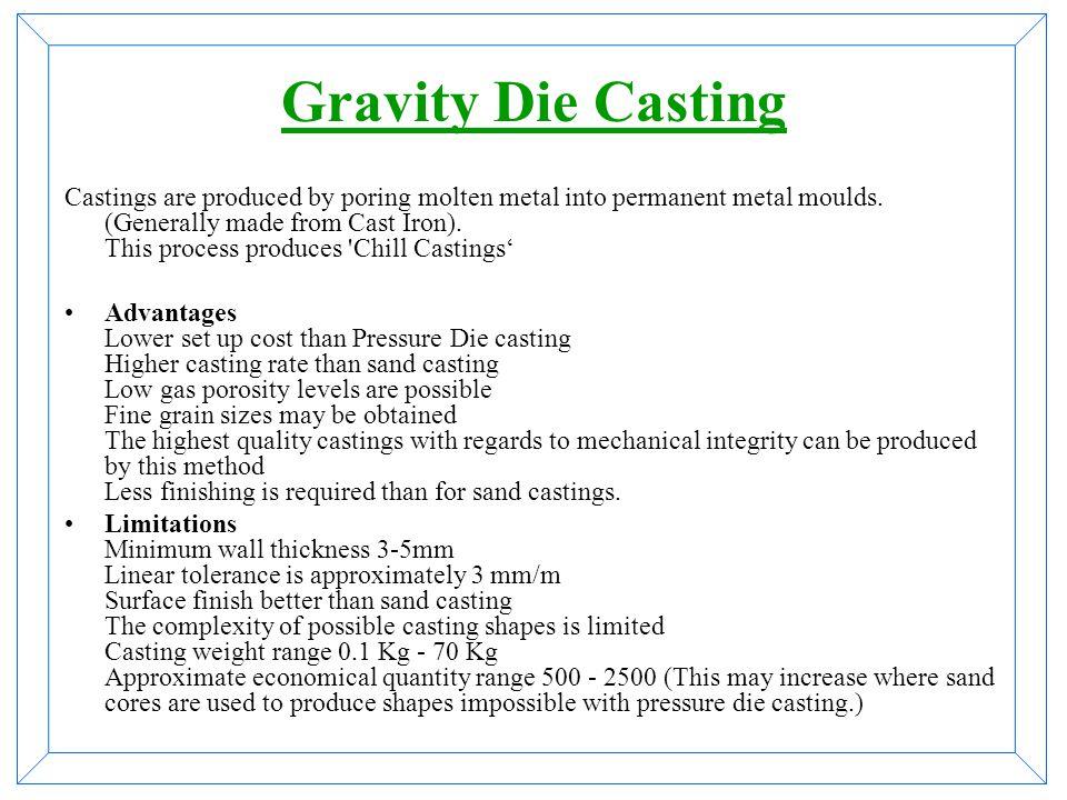 Gravity Die Casting