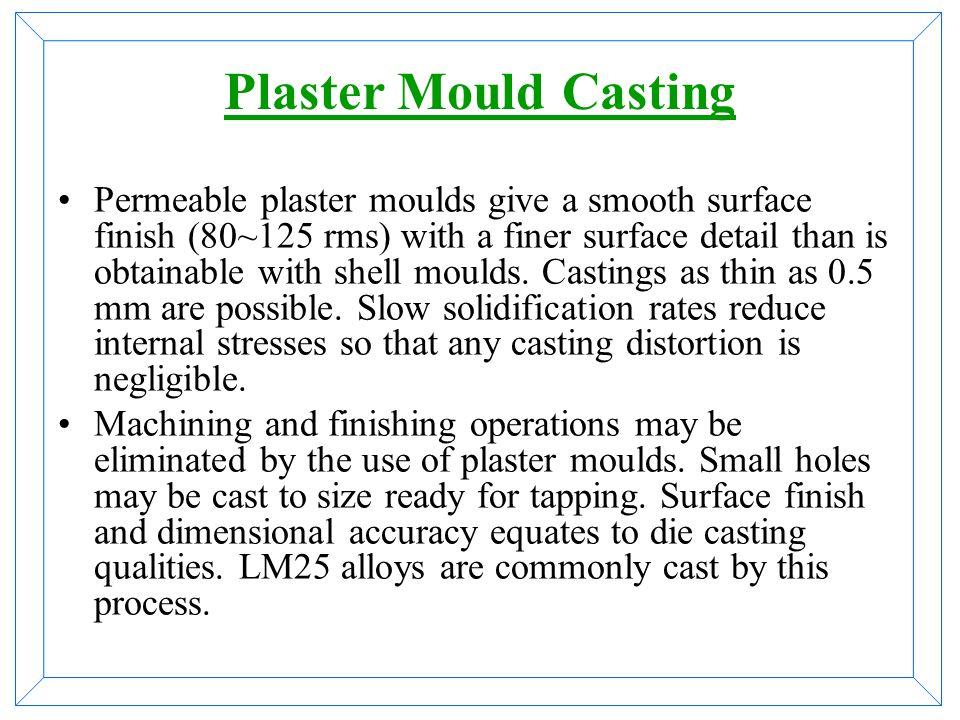 Plaster Mould Casting