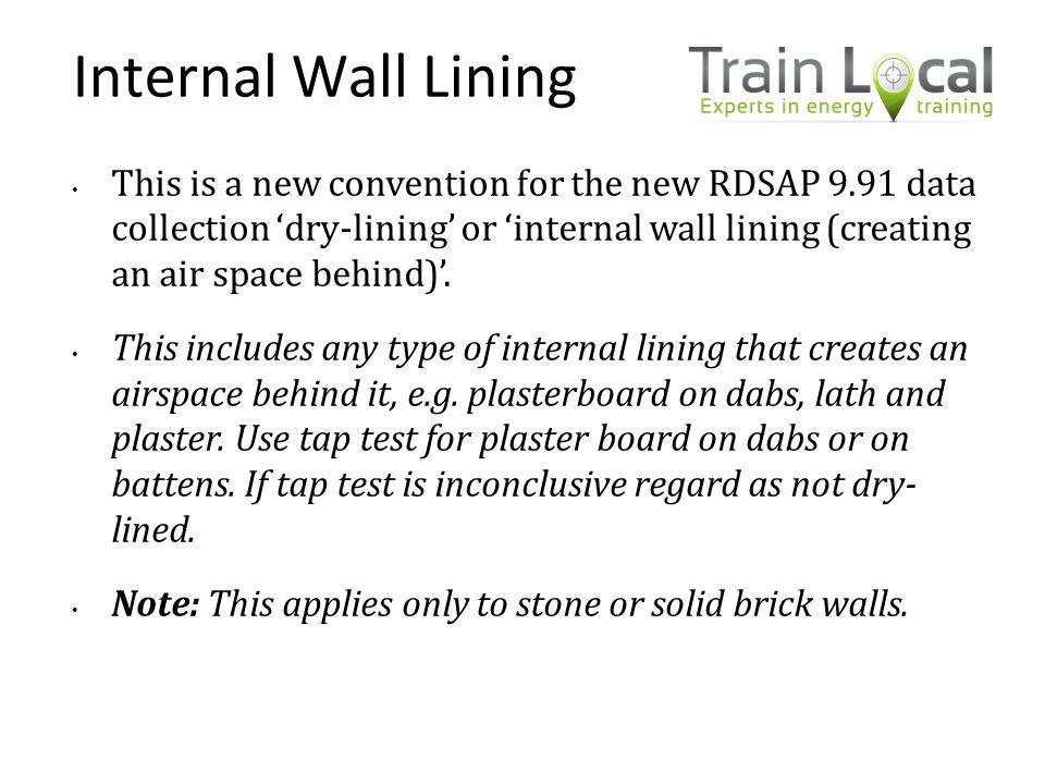 Internal Wall Lining