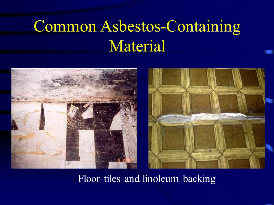 Common Asbestos-Containing Material