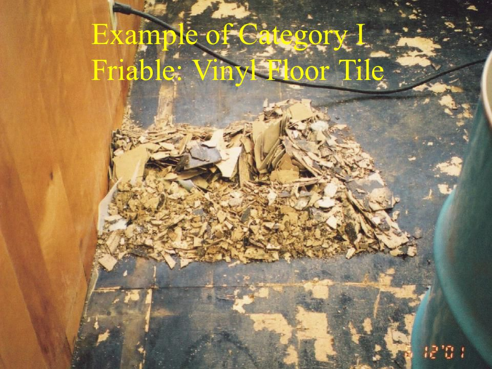 Friable: Vinyl Floor Tile