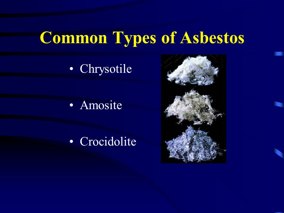 Common Types of Asbestos
