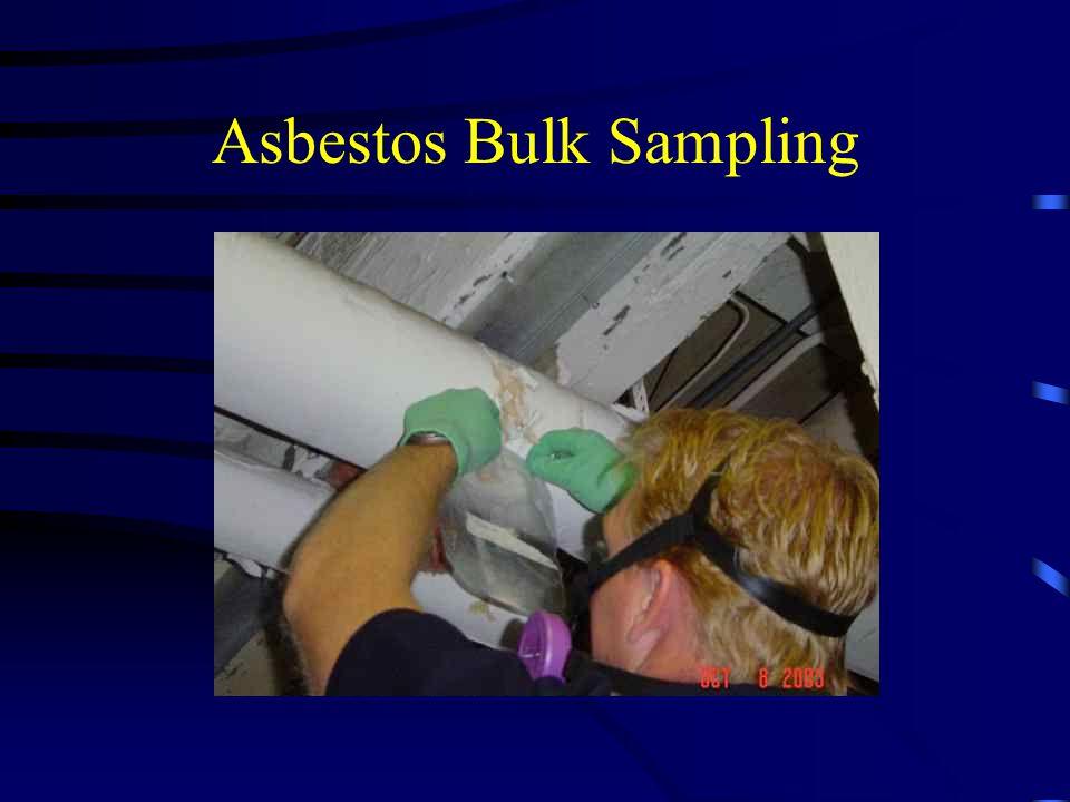 Asbestos Bulk Sampling