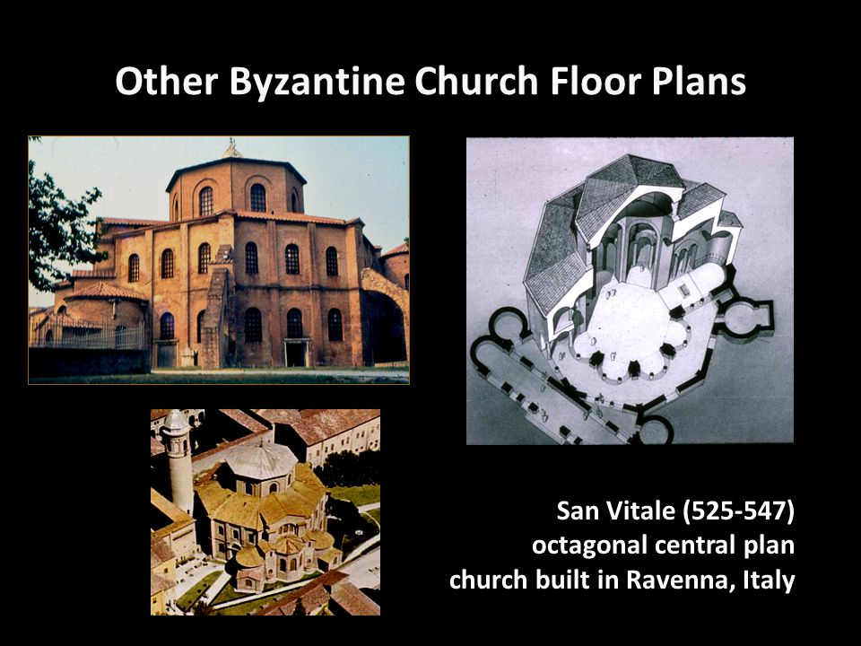 Other Byzantine Church Floor Plans