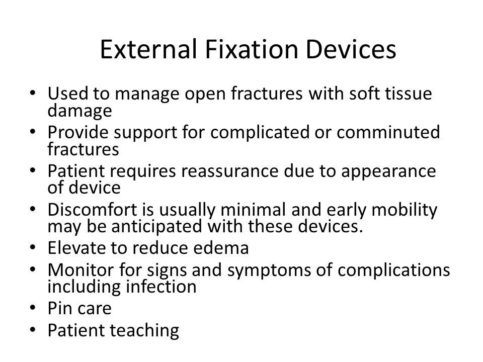External Fixation Devices