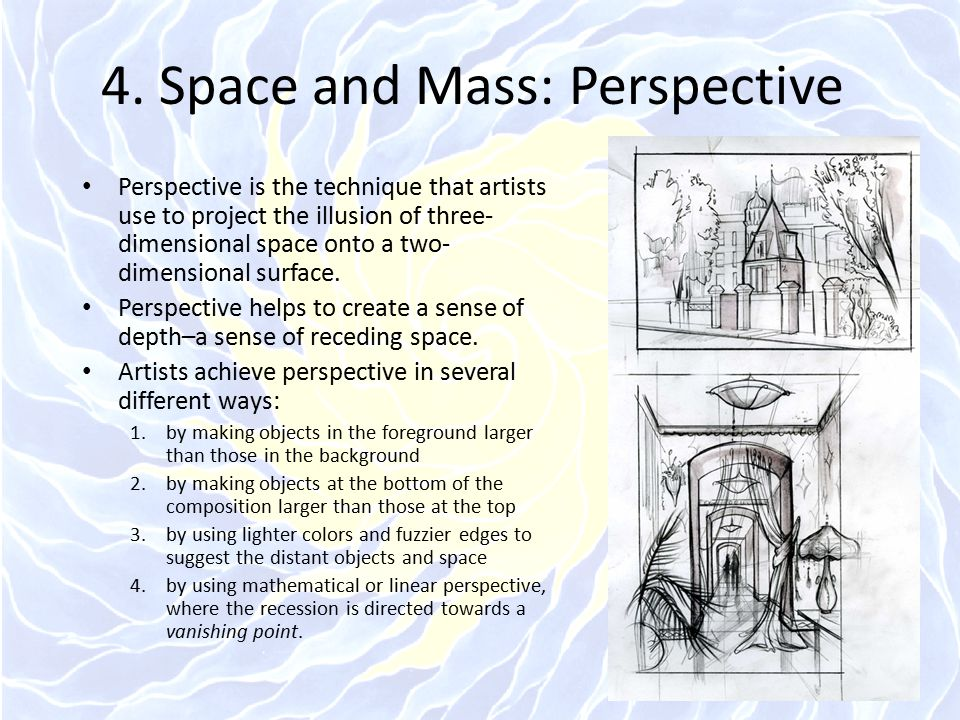 4. Space and Mass: Perspective