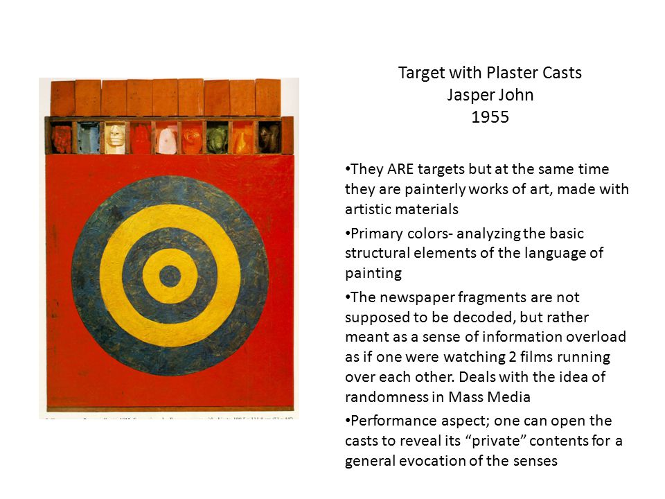 Target with Plaster Casts Jasper John 1955