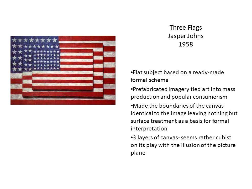 Three Flags Jasper Johns 1958