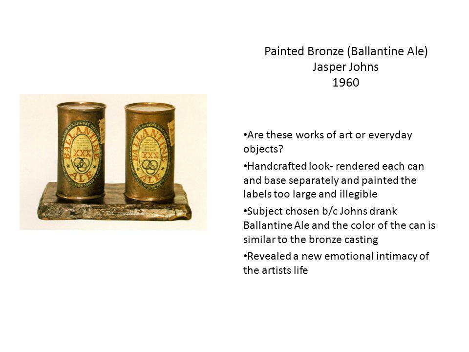 Painted Bronze (Ballantine Ale) Jasper Johns 1960
