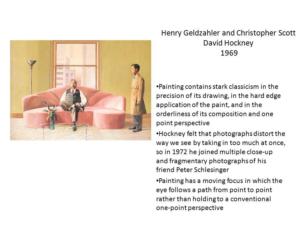 Henry Geldzahler and Christopher Scott David Hockney 1969