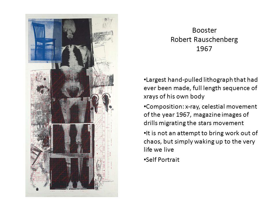 Booster Robert Rauschenberg 1967