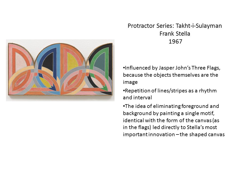 Protractor Series: Takht-i-Sulayman Frank Stella 1967