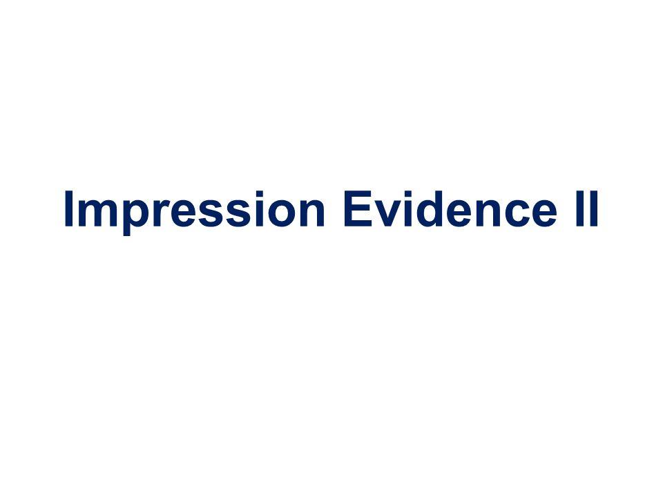 Impression Evidence II