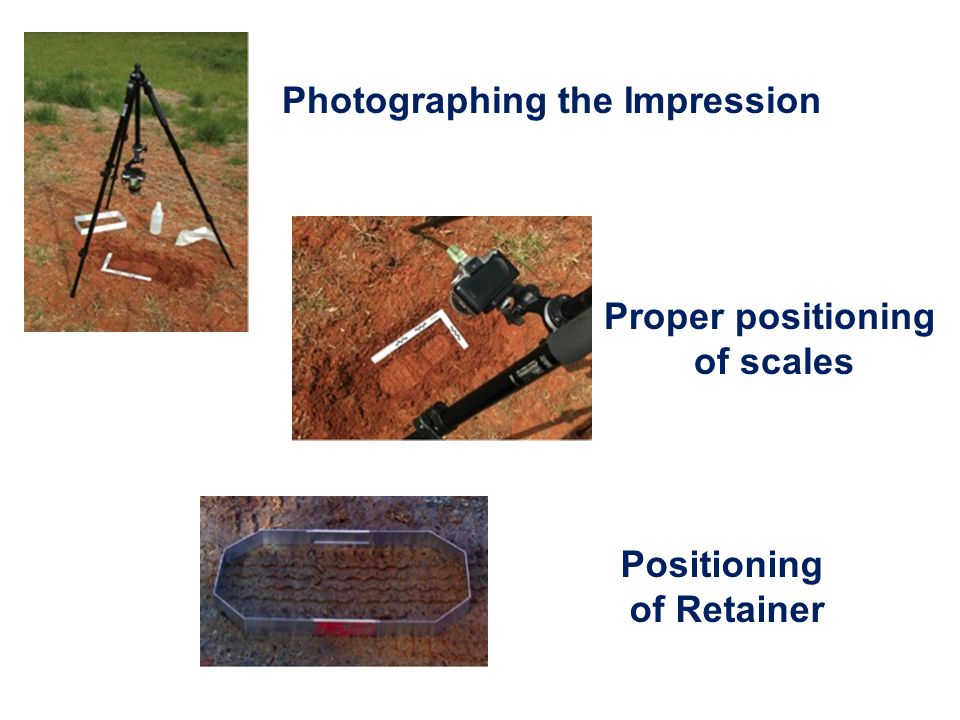 Photographing the Impression
