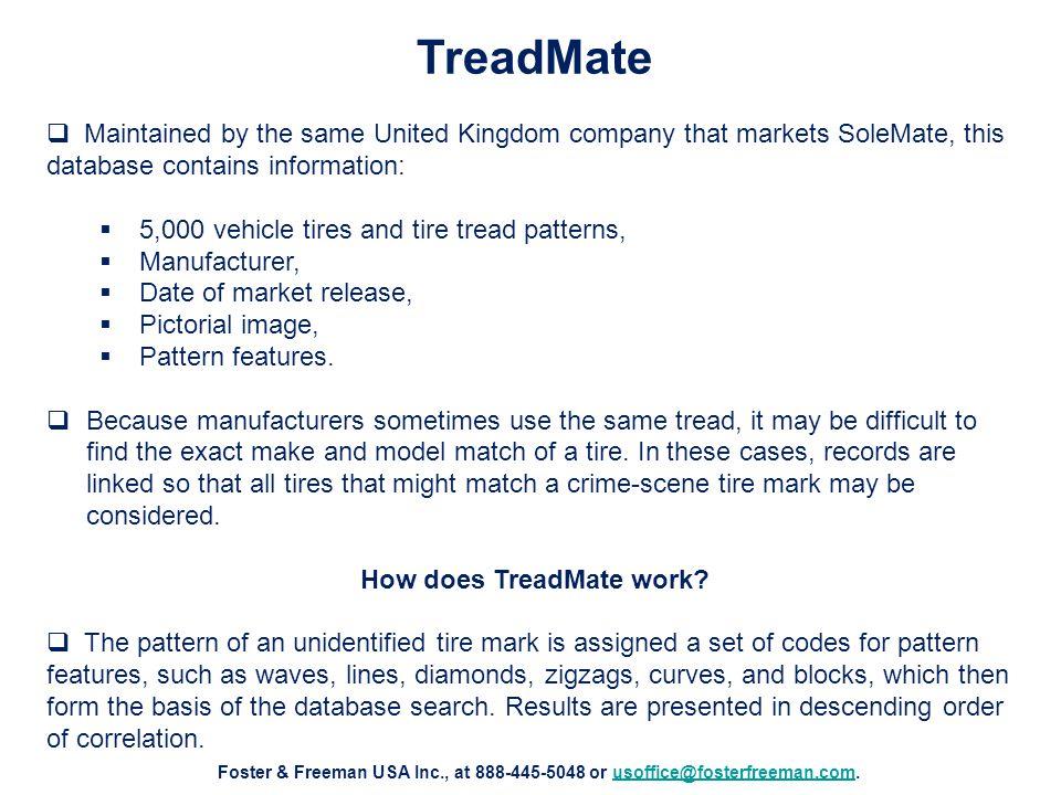 How does TreadMate work