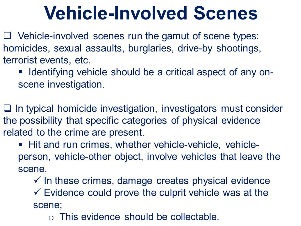 Vehicle-Involved Scenes