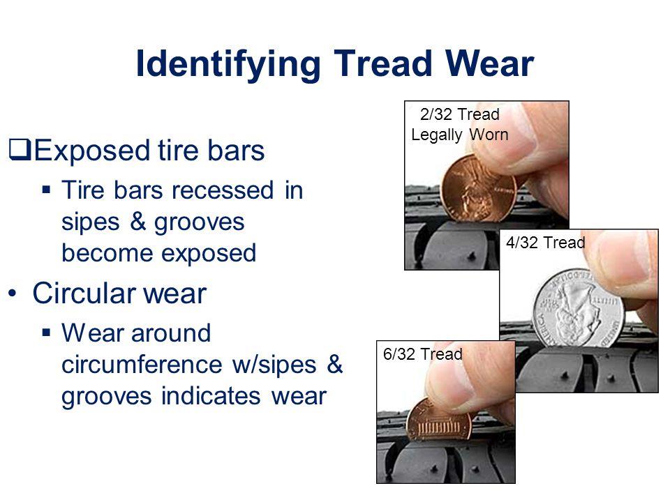 Identifying Tread Wear