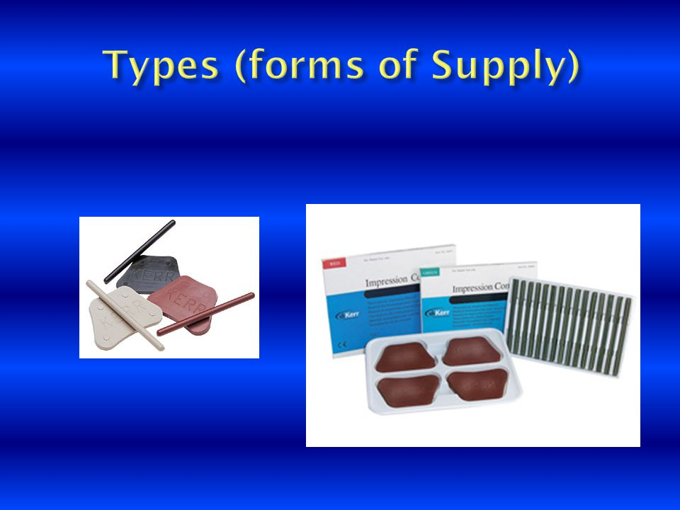 Types (forms of Supply)