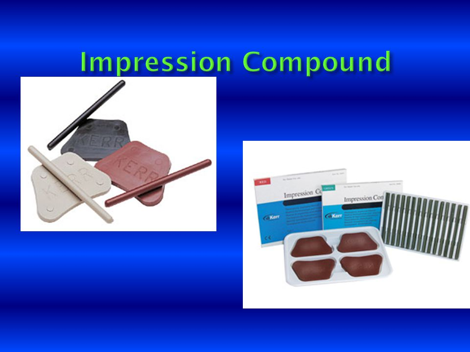 Impression Compound