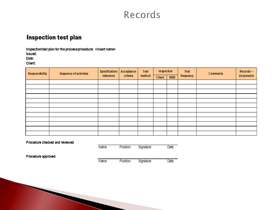 Qcf643 maintain relevant records in accordance with the organisation procedures