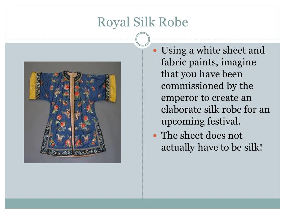 Royal Silk Robe