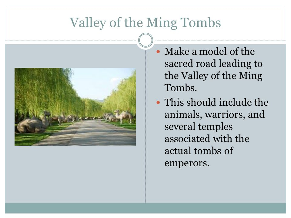 Valley of the Ming Tombs