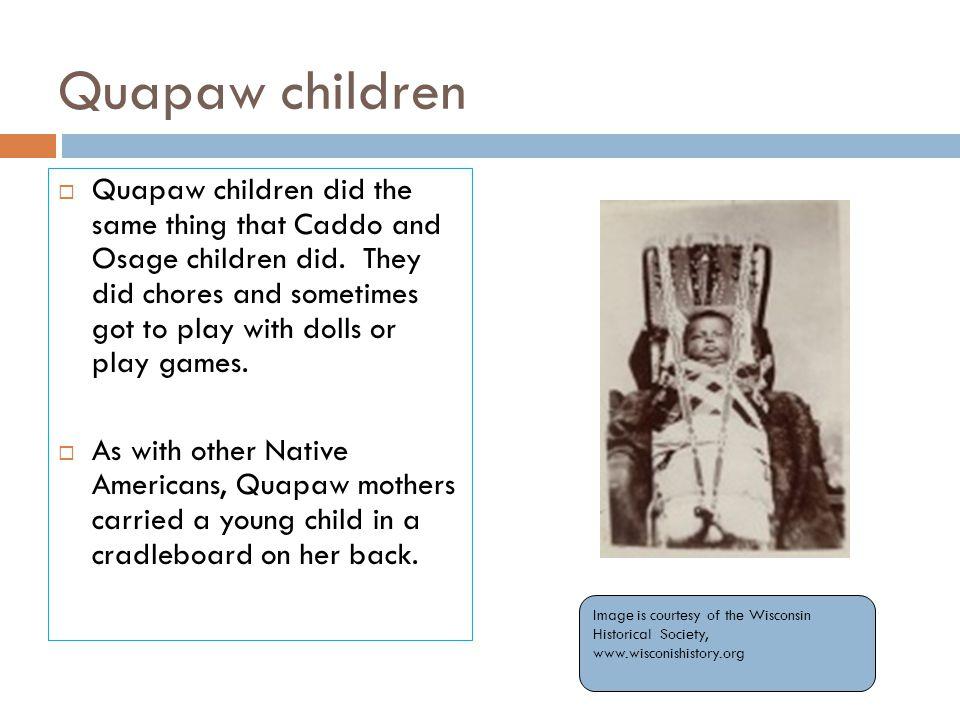 Quapaw children