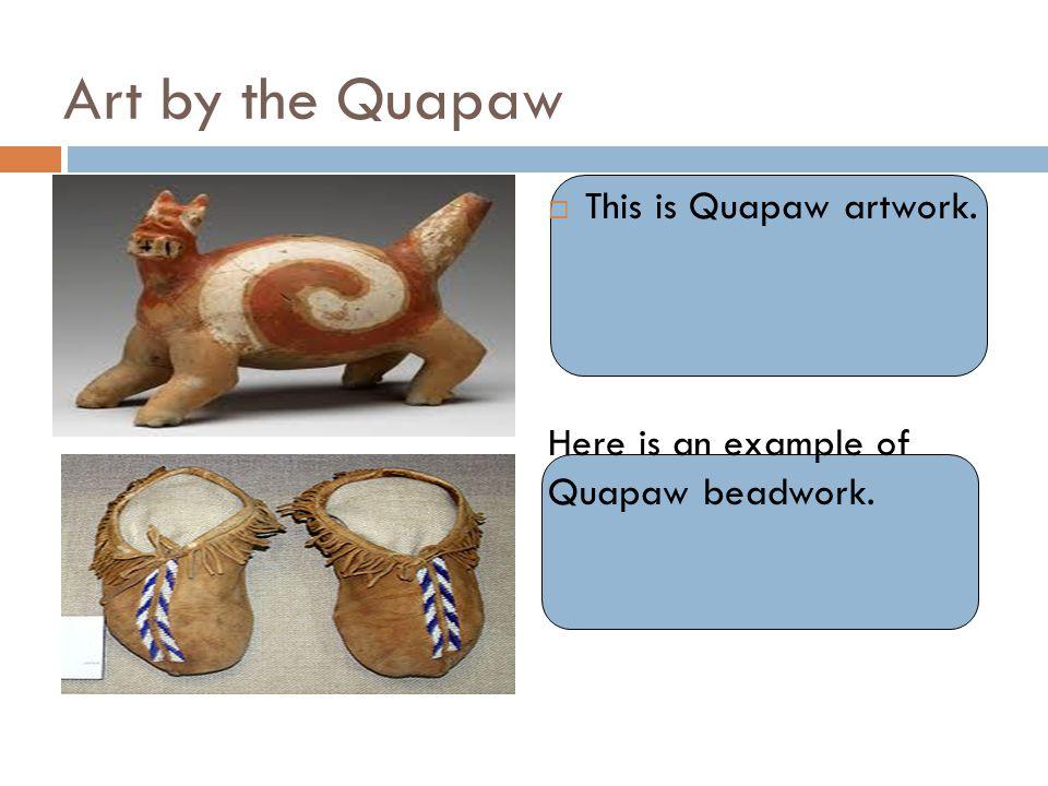 Art by the Quapaw This is Quapaw artwork.