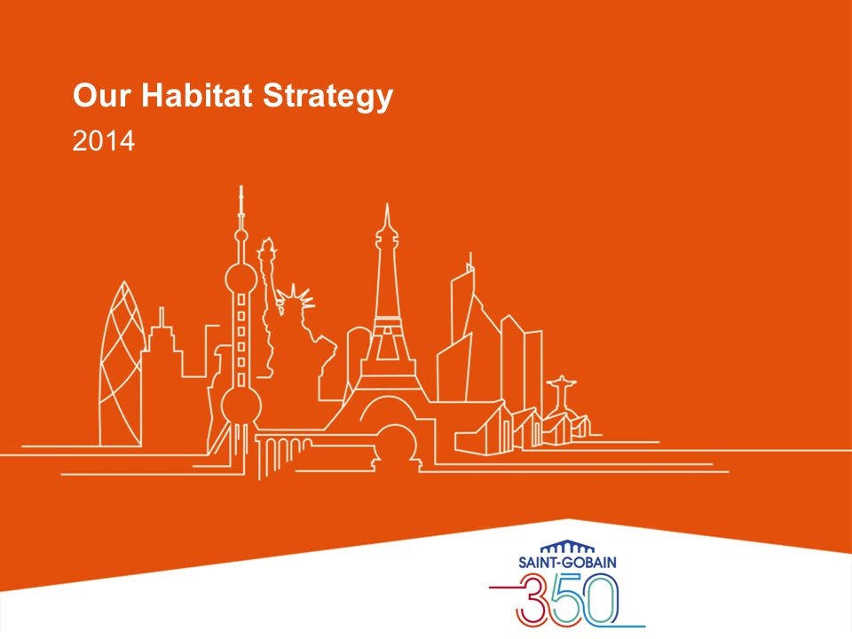 Our Habitat Strategy 2014