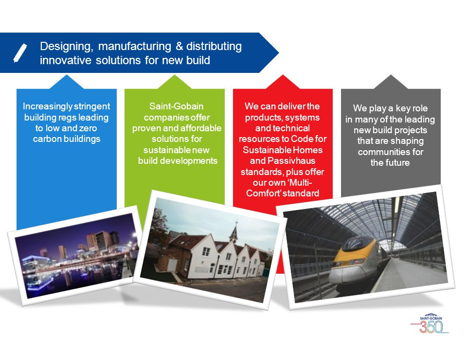 Designing, manufacturing & distributing innovative solutions for new build