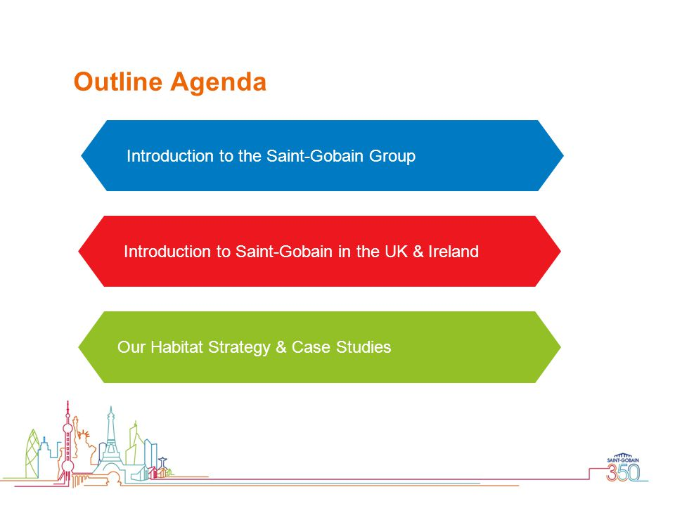 Outline Agenda Introduction to the Saint-Gobain Group