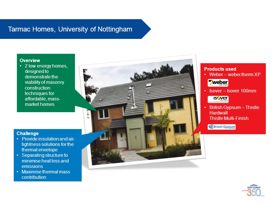 Tarmac Homes, University of Nottingham