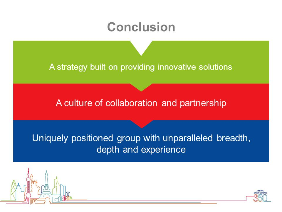 Conclusion A culture of collaboration and partnership