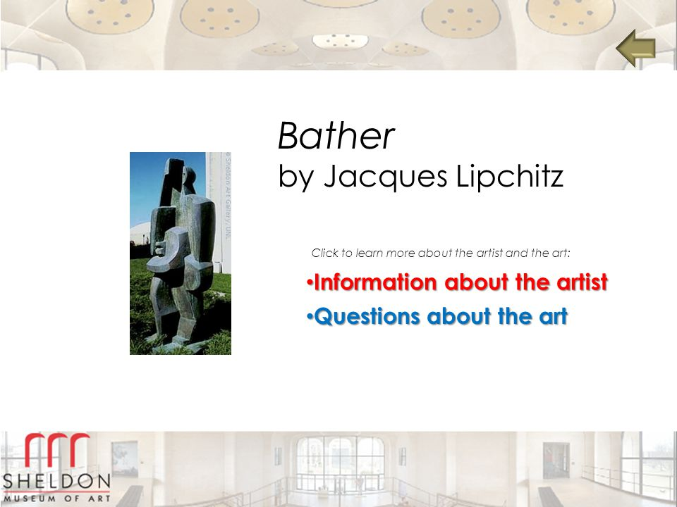 Bather by Jacques Lipchitz Information about the artist